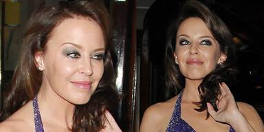 Kylie Minogue zeigt ihr Botox-Lächeln
