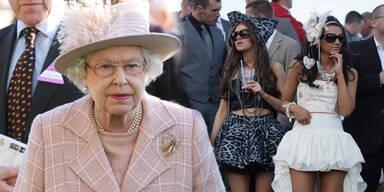 Queen stellt  Dresscode für Pferderennen auf