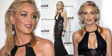 Sharon Stone mit 54 Jahren sexier denn je
