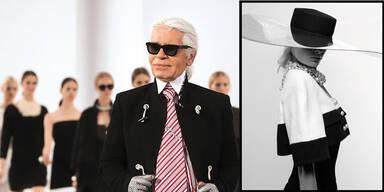 Karl Lagerfeld zeigt uns seine vielen Talente