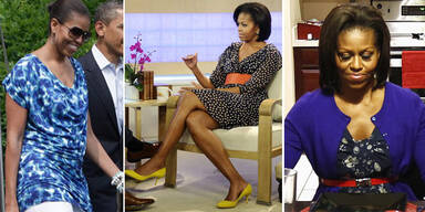 Michelle Obama will mit Billig-Kleidung punkten