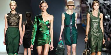 Trendfarbe Grün: Die besten Runway-Looks