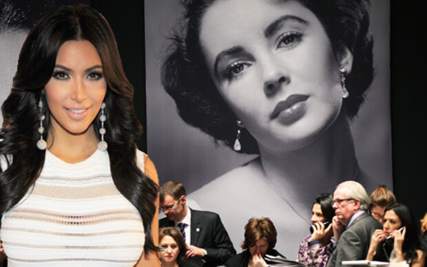 Kim Kardashian kaufte Liz Taylors Diamanten