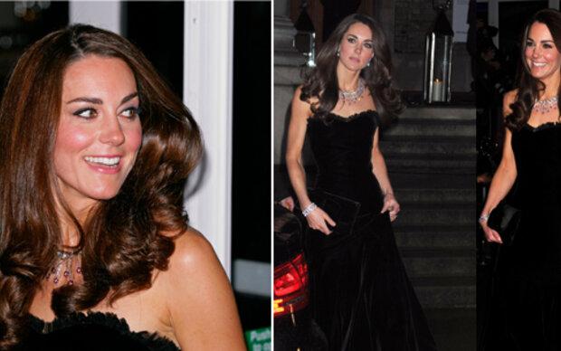 Kates teurer Gala-Look