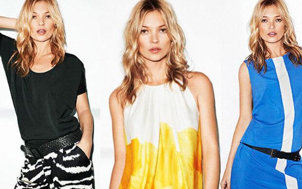 Kate Moss zeigt neue Mango-Kollektion