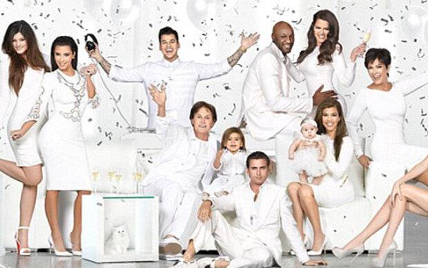 Weiße Weihnachts-Grüße von den Kardashians