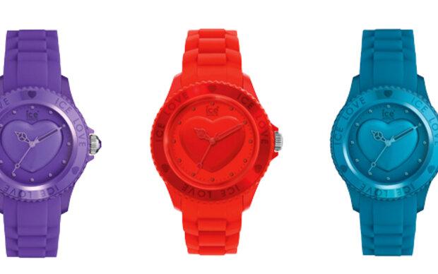 Ice Love-Uhren gewinnen