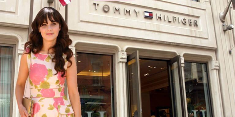 Zooey Deschanel designt für Tommy Hilfiger