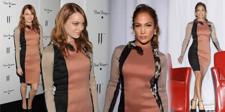 Emma Stone & J.Lo im Star Style-Duell