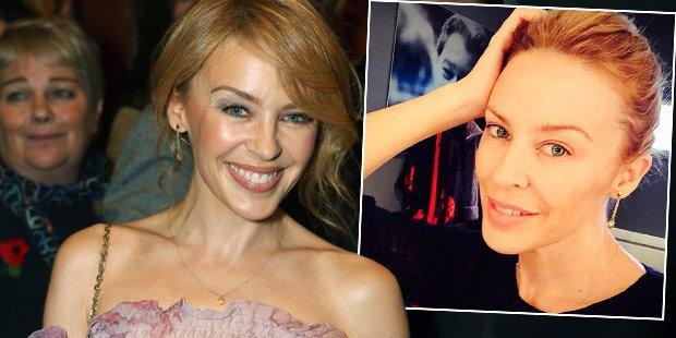 Kylie Minogue: So schön ohne Make-Up