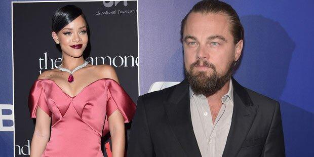 DiCaprio & Rihanna: Wilde Knutscherei?