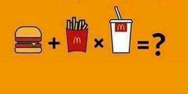 Irres McDonald's-Rätsel lässt Internet verzweifeln