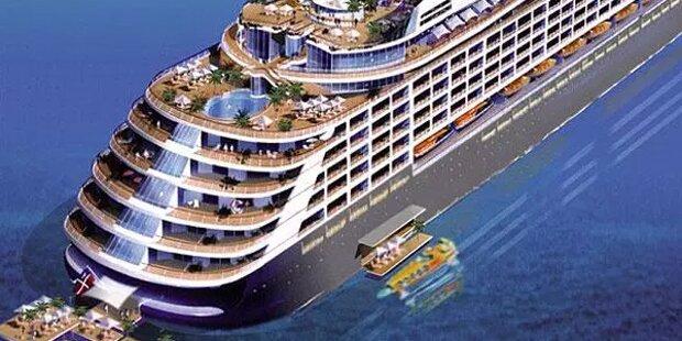 Diese Luxus-Kreuzfahrt ist nur für Milliardäre