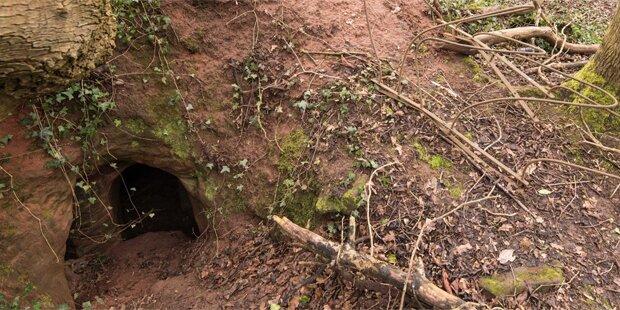 Bauer entdeckt ein Loch – was er dort findet ist unglaublich