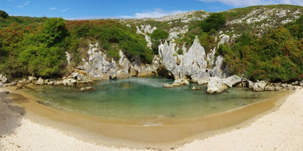 Das ist der ungewöhnlichste Strand der Welt