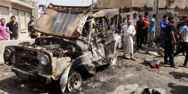 Doppelanschlag im Irak: 50 Tote
