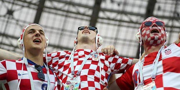 Darum tragen Kroatien-Fans Wasserball-Kappen