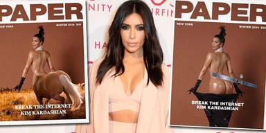 Kim Kardashian: So lacht das Internet über ihr Po-Cover