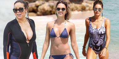 Jessica Alba, Mariah Carey, Doutzen Kroes