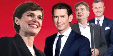 Rendi-Wagner Kurz Kogler Hofer