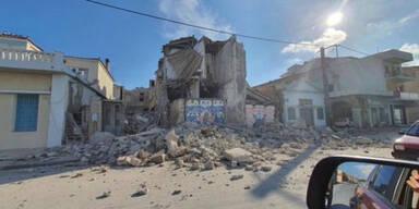 Erdbeben in Ägäis: Zwei Teenies auf Samos von Trümmern erschlagen