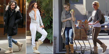 Ugg-Boots: Hollywoods Schuhtrend Nr. 1