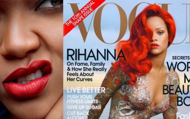 Rihanna als Arielle auf dem Vogue-Cover
