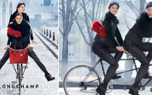 Photoshop-Rätsel: Panne oder Akrobatik?