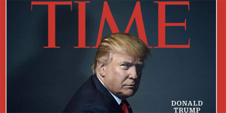"""""""Person des Jahres"""": Trump blamiert sich mit Tweet"""