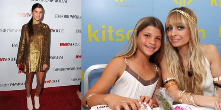 Sophia Richie modelt für die Teen Vogue