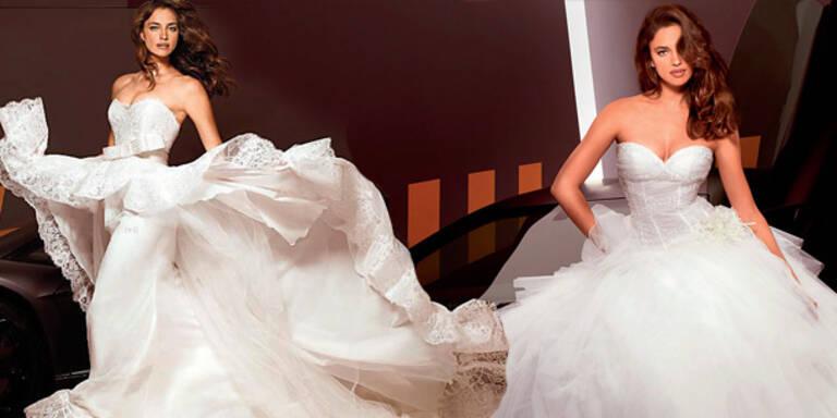 Ronaldo-Freundin im Hochzeitskleid