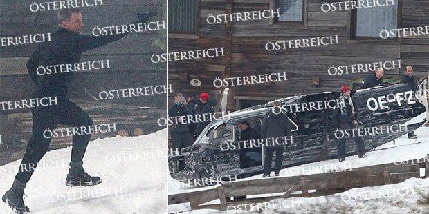 Bond: Spektakulärer Dreh in Obertilliach