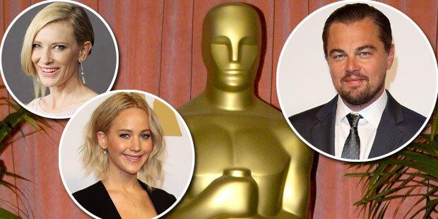 So glamourös werden die Oscars