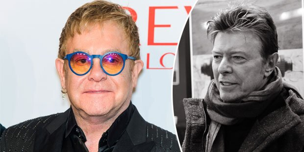 Elton: Darum war Bowie kein Freund