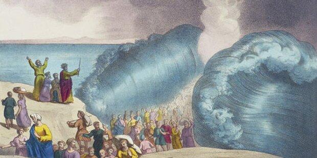 Moses hat das Rote Meer tatsächlich geteilt