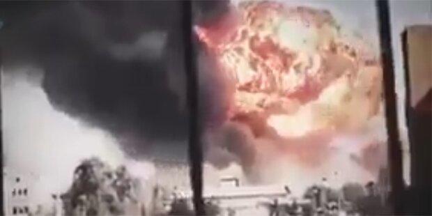 Irak: Über 100 Tote bei Mega-Explosion
