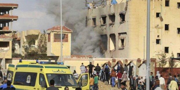 Blutiger Anschlag auf Moschee: 305 Tote