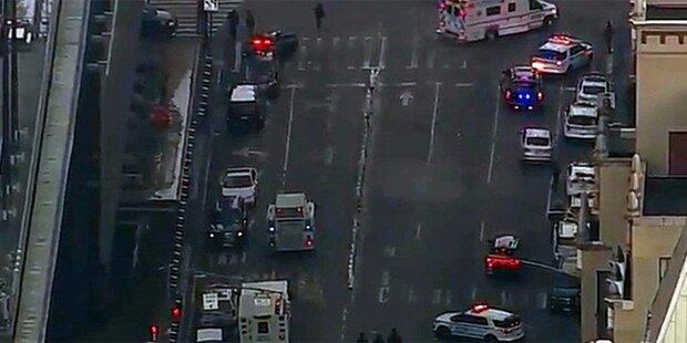 Polizei: Explosion in Manhattan