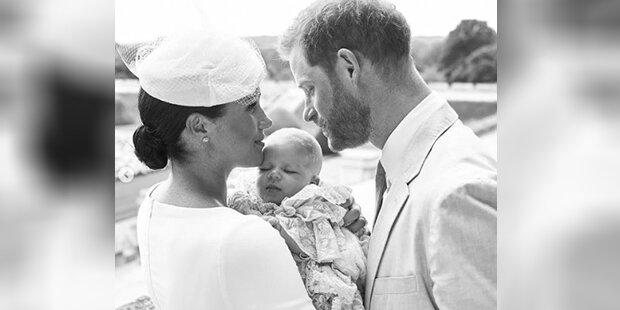 43da30e30f So lief die Geheim-Taufe von Baby Archie ab