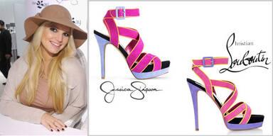 Jessica Simpson designt Kopie von Louboutins