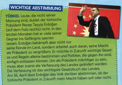 Türkischer Unmut über Artikel in Vorarlberger Kinderzeitung