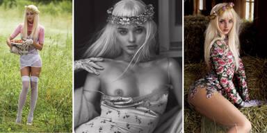Miranda Kerr als sexy Lolita