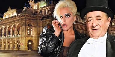 Lugner Lasy Gaga Opernball