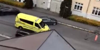 Oslo Amokfahrt Krankenwagen