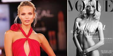 Topmodel zieht blank für Vogue