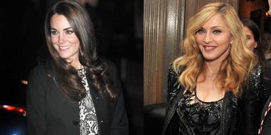 Madonna: 'Ich bin ein Fan von Kates Stil!'