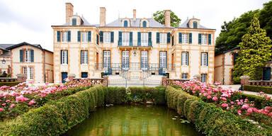 Auf dem Schloss der Champagner-Dynastie