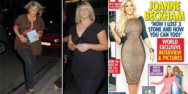 Joanne Beckham: 20kg abgenommen