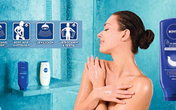 Die erste Bodymilk für die Dusche!