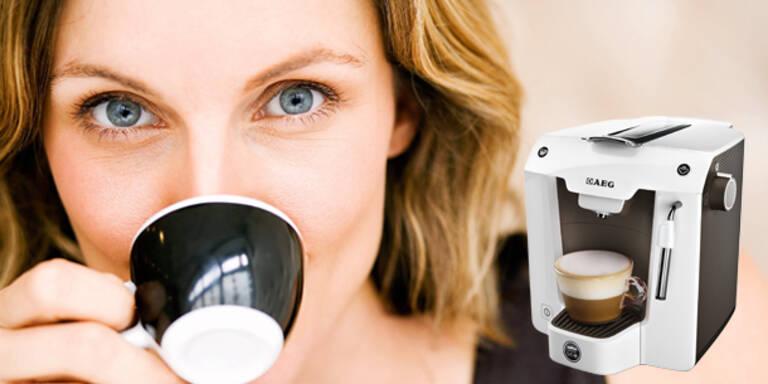 Espresso-Maschine gewinnen!